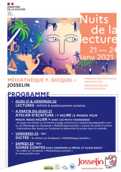 Nuits de la lecture @ Médiathèque Y Gicquel