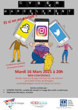 Conférence | Cyberharcèlement, et si on en parlait ? @ Visio-conférence