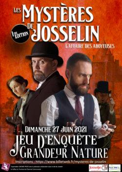 Les Mystères de Josselin @ Office de Tourisme