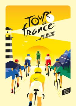 Passage du Tour de France 2021