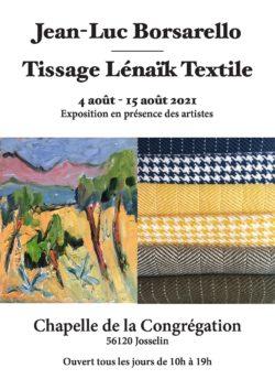 EXPO   Jean-Luc et Lénaïk Borsarello @ Chapelle de la Congrégation