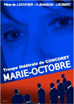 THEATRE : Marie-Octobre par la troupe théâtrale de Concoret @ Centre Culturel L'Ecusson